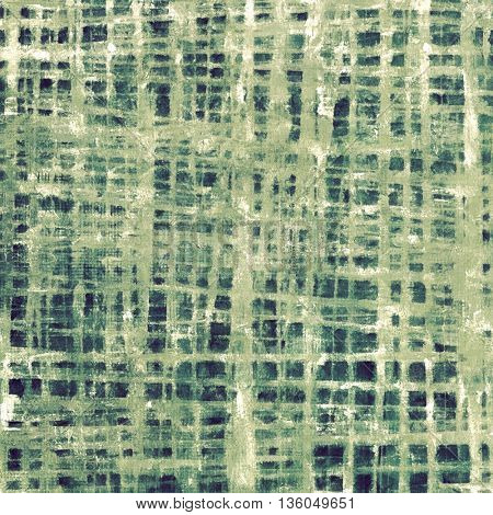 Vintage decorative texture with grunge design elements and different color patterns: gray; green; blue; cyan; white