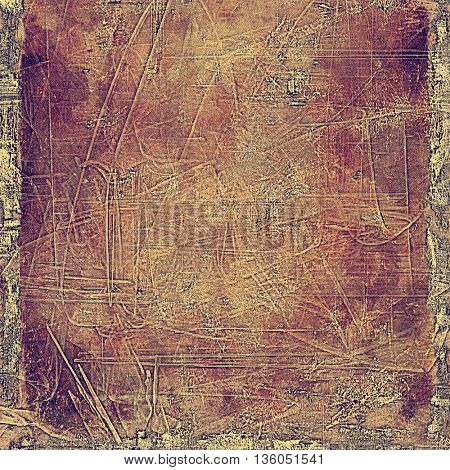 Ancient textured background or shabby backdrop. With different color patterns: yellow (beige); brown; red (orange); purple (violet); pink