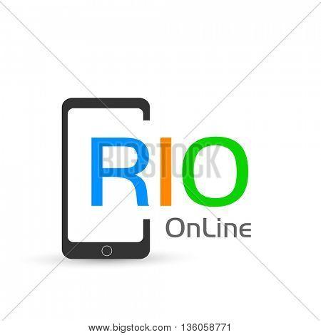 Smartphone online rio design easy all editable