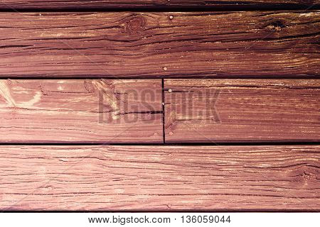 Wood Board Floor Background Texture In Retro Color