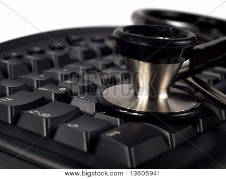 Medical Instrument With Keyboard