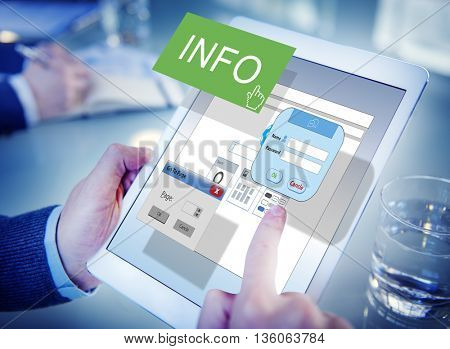Info Data Details Research Statistics Facts Content Concept