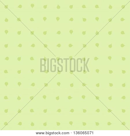Green floral pattern vintage background. Vector image