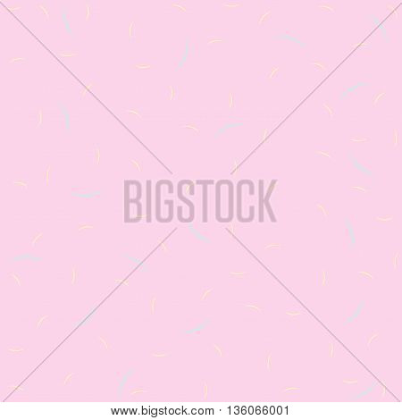Pink floral pattern vintage background in pastel tones