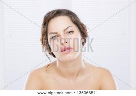 Beauty face woman