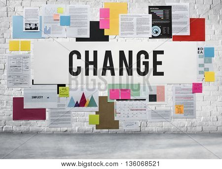 Change Choice Adapting Direction Ideas Planning Concept