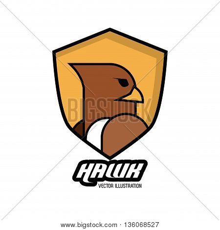 Animal  concept represented by Haluk icon. Isolated and flat illustration