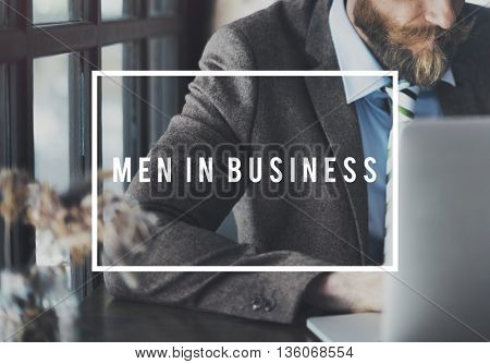 Men In Business Commercial Corporate Opportunity Concept