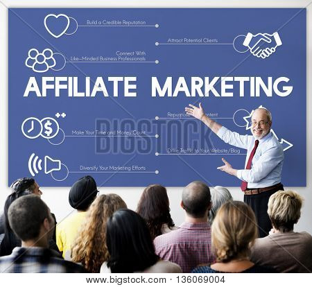 Affiliate Marketing Strategy Planning Concept