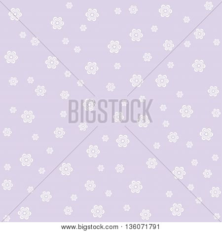 seamless pattern with white flowers. It can be used for wrapping paper wallpaper card poster.