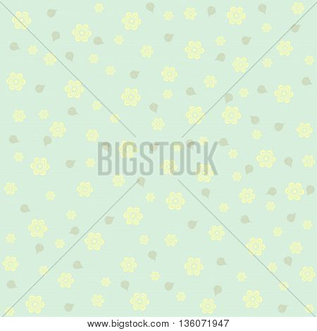 seamless pattern with flowers. It can be used for wrapping paper wallpaper card poster.