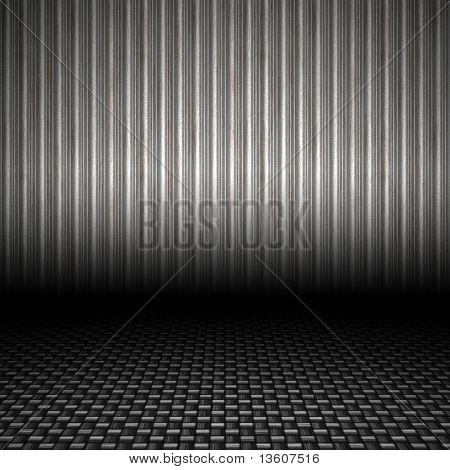 Telón de fondo de Metal Corrugado