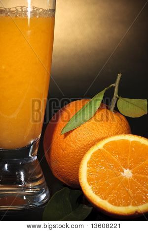 Orange Juice Close-up
