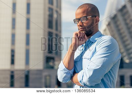 Afro American Businessman