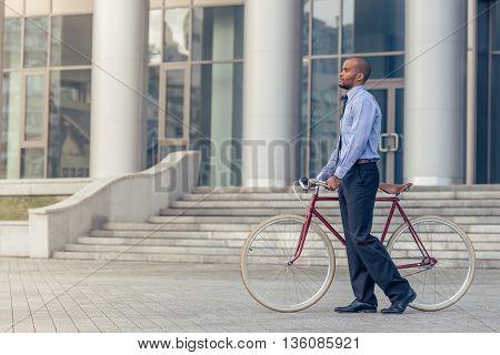 Afro American Businessman