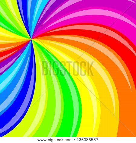 The Abstract background color stripes Vector illustration.