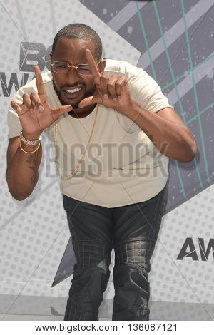 LOS ANGELES - JUN 26:  Jackie Long at the BET Awards Arrivals at the Microsoft Theater on June 26, 2016 in Los Angeles, CA