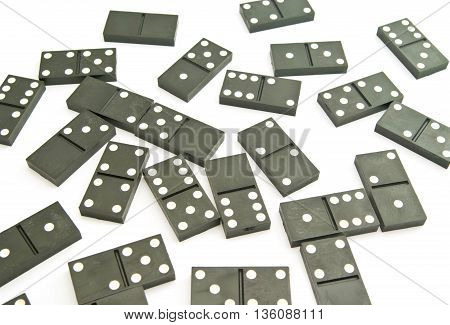 Plastic Dominoes Chips