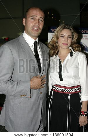 Billy Zane and Kelly Brook at the Los Angeles premiere of 'Silver City' at the Arclight Cinerama Dome in Hollywood, USA on September 14, 2004.