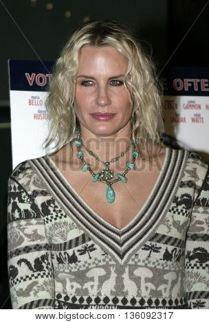 Daryl Hannah at the Los Angeles premiere of 'Silver City' at the Arclight Cinerama Dome in Hollywood, USA on September 14, 2004.