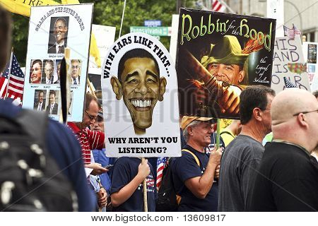 September 12, 2009:  Tea Party March On Washington D.c.