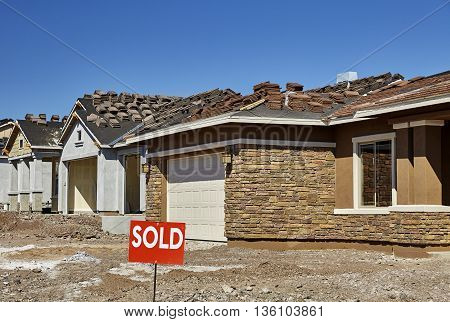 Construction Industry New Home For Sale Sold