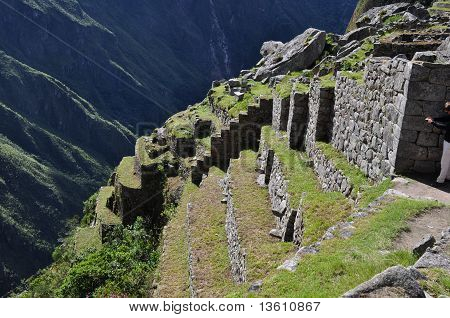 Angle of Descent at Machu Picchu, Peru