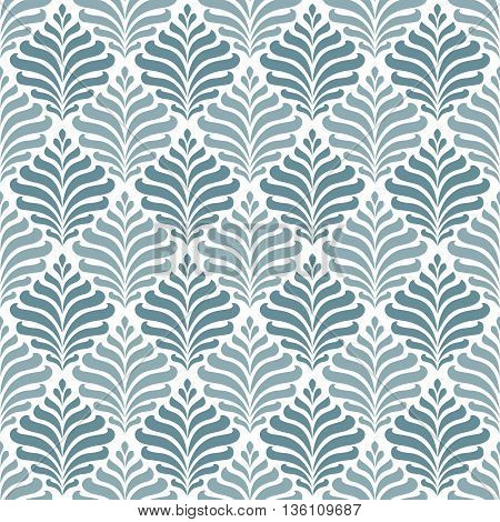 Seamless pattern with floral elements. 10 eps.