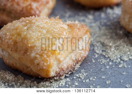 Sweet Cottage Cheese Coookie Covered In Sugar