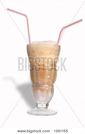 Rootbeer Float For Two With Shadow