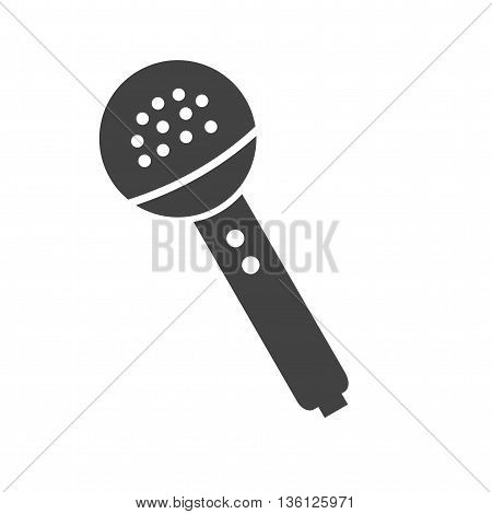 Microphone, music, wireless icon vector image. Can also be used for music. Suitable for use on web apps, mobile apps and print media.