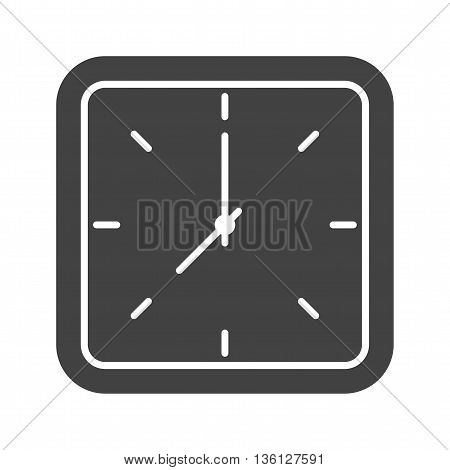 Clock, time, wall icon vector image. Can also be used for home. Suitable for web apps, mobile apps and print media.