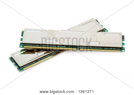 Dual-Channel Memory Kit (Isolated On White)