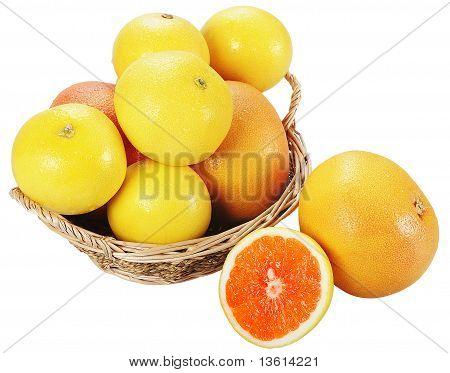 Fresh Juicy Grapefruit