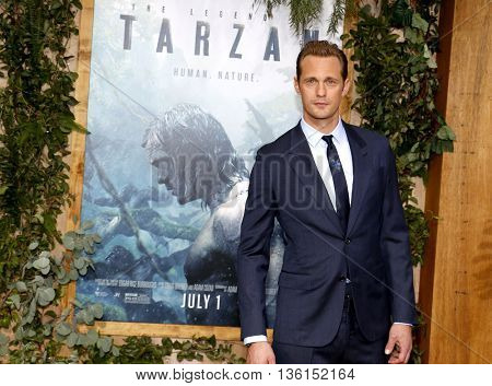 Alexander Skarsgard at the Los Angeles premiere of 'The Legend Of Tarzan' held at the Dolby Theatre in Hollywood, USA on June 27, 2016.