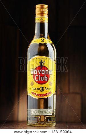 Bottle Of Havana Club White Rum