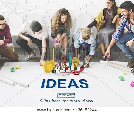 Ideas Craft Tools Equipment Work Concept