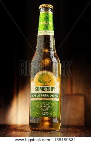 Bottles Of Somersby Cider Drink
