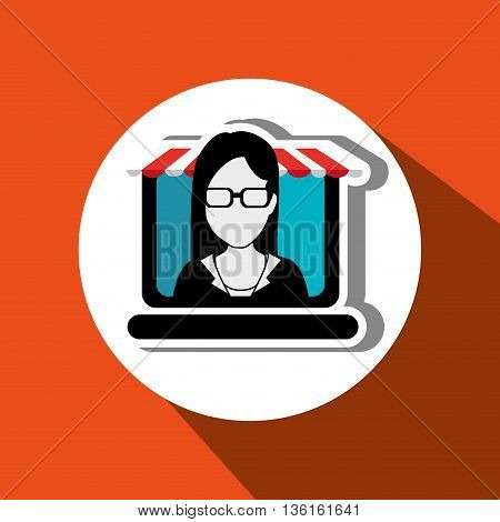 business online design, vector illustration eps10 graphic