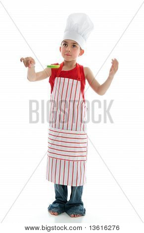 Young Boy Chef