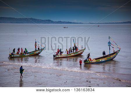 Sierra Leone, West Africa, The Beaches Of Yongoro