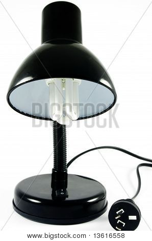 Lamp with bulb