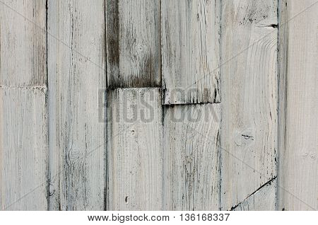 Wooden texture topic: old wooden boards painted white studio