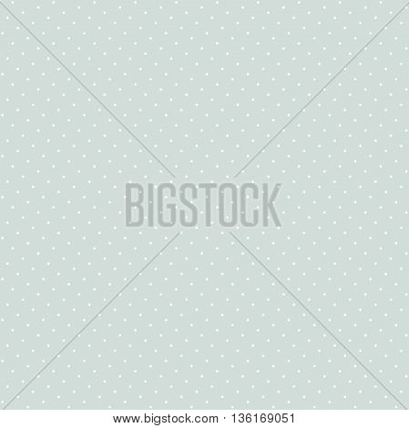 Seamless geometric modern light blue and white pattern. Fine ornament with dotted elements