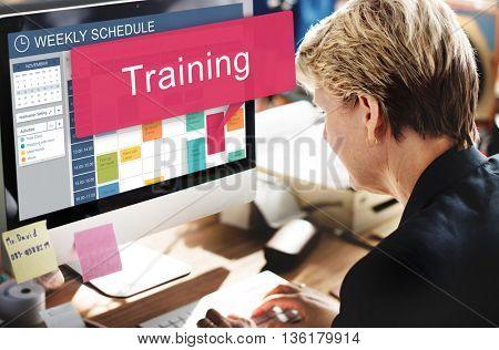 Training Train Coaching Ability Inspire Ideas Concept
