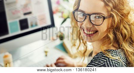 Woman Shopping Online Shopaholics Payment Concept