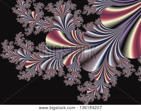 Fabulous fractal background. Collection - Magical Satin. You can use it for invitations notebook covers phone cases postcards cards ceramics carpets and so on.