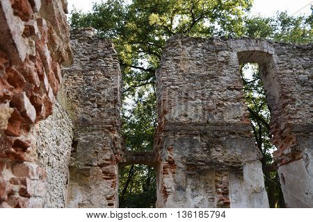 Katarínka is the name of the ruin of St. Catherine's Church that was once part of St. Catherine's Monastery dedicated to St. Catherine of Alexandria. This is the reason why nowadays this place is called Katarínka -