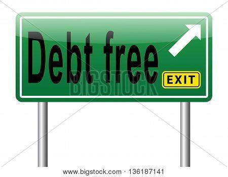 Debt Free Zone