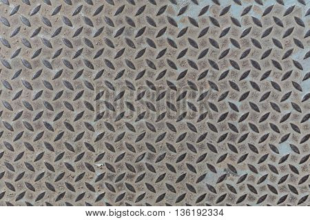 old metal diamond plate background closeup. metal, plate, steel,